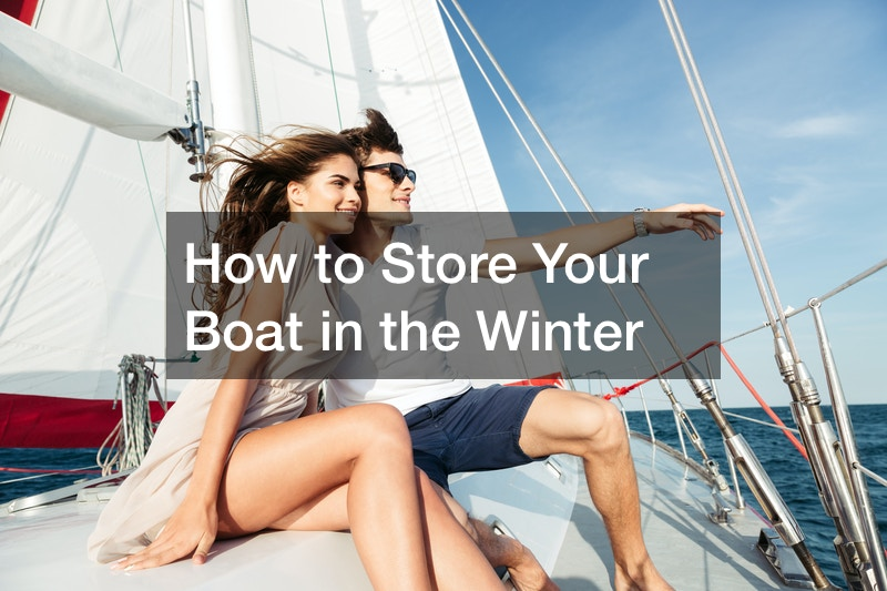 how to store a boat for winter
